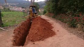 Saae deu in�cio �s obras na regi�o do Tanque