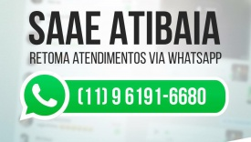 NOVO NÚMERO DE WHATSAAP